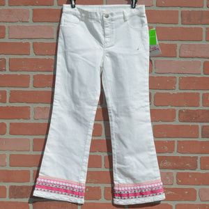 Lilly Pulitzer Brooke kids girls jeans size 8 NWT